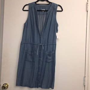 Blue jean dress. Never worn. NWT